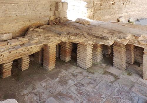 Debouchage d'un plancher chauffant tres ancien